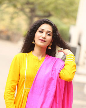 Garima Singh - Oka Chinna Viramam Movie Press Meet Photos | Picture 1718550