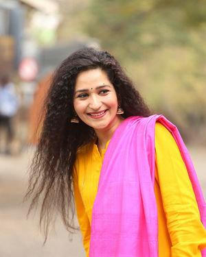 Garima Singh - Oka Chinna Viramam Movie Press Meet Photos | Picture 1718541