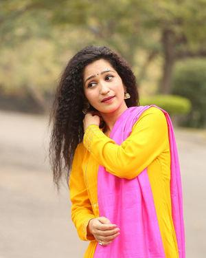 Garima Singh - Oka Chinna Viramam Movie Press Meet Photos | Picture 1718535