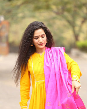 Garima Singh - Oka Chinna Viramam Movie Press Meet Photos | Picture 1718543