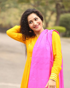 Garima Singh - Oka Chinna Viramam Movie Press Meet Photos | Picture 1718534