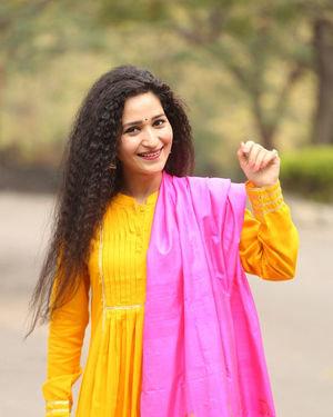 Garima Singh - Oka Chinna Viramam Movie Press Meet Photos | Picture 1718544