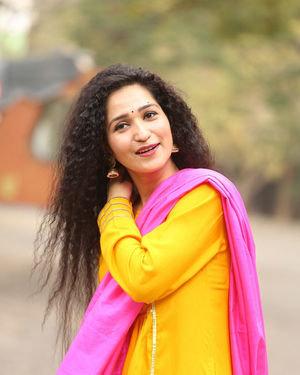 Garima Singh - Oka Chinna Viramam Movie Press Meet Photos | Picture 1718542