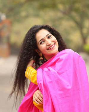 Garima Singh - Oka Chinna Viramam Movie Press Meet Photos | Picture 1718533
