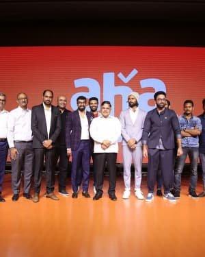 Celebs At Aha Mobile App Launch Photos