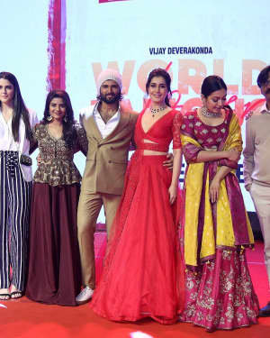 Photos: Promotion Of Telugu Film World Famous Lover | Picture 1720702