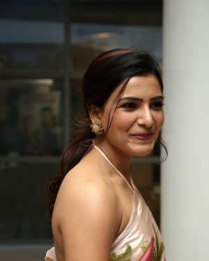 Samantha Akkineni At Jaanu Movie Thanks Meet Photos | Picture 1720670