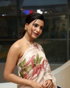 Samantha Akkineni At Jaanu Movie Thanks Meet Photos | Picture 1720662