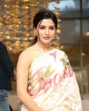 Samantha Akkineni At Jaanu Movie Thanks Meet Photos | Picture 1720680