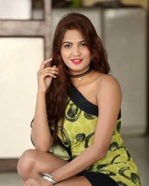 Sravani Nikki - Life Anubhavinchu Raja Movie Success Meet Photos | Picture 1721119