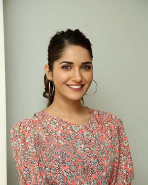 Ruhani Sharma - Hit Telugu Movie Trailer Launch Photos
