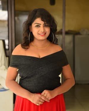 Sridevi Padindala - Hello Medam Telugu Movie Press Meet Photos