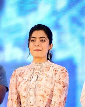Rashmika Mandanna - Bheeshma Movie Success Meet Photos | Picture 1723070