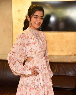Rashmika Mandanna - Bheeshma Movie Success Meet Photos | Picture 1722988