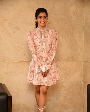 Rashmika Mandanna - Bheeshma Movie Success Meet Photos | Picture 1722993