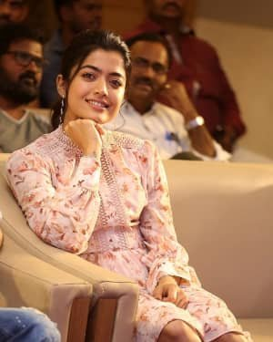 Rashmika Mandanna - Bheeshma Movie Success Meet Photos | Picture 1723055