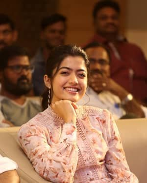 Rashmika Mandanna - Bheeshma Movie Success Meet Photos | Picture 1723053