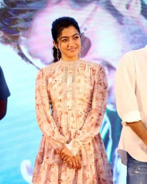 Rashmika Mandanna - Bheeshma Movie Success Meet Photos | Picture 1723061