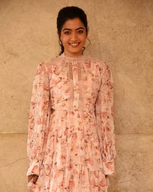 Rashmika Mandanna - Bheeshma Movie Success Meet Photos | Picture 1722997