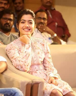 Rashmika Mandanna - Bheeshma Movie Success Meet Photos | Picture 1723052