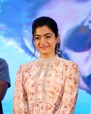 Rashmika Mandanna - Bheeshma Movie Success Meet Photos | Picture 1723073