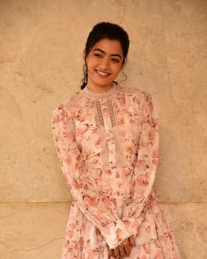 Rashmika Mandanna - Bheeshma Movie Success Meet Photos | Picture 1722996
