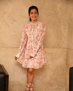 Rashmika Mandanna - Bheeshma Movie Success Meet Photos | Picture 1722992