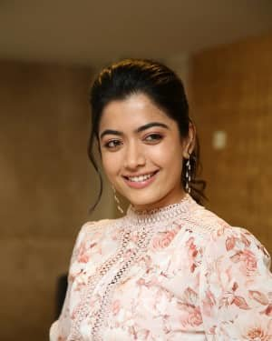 Rashmika Mandanna - Bheeshma Movie Success Meet Photos | Picture 1722998