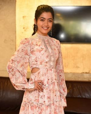 Rashmika Mandanna - Bheeshma Movie Success Meet Photos | Picture 1722989