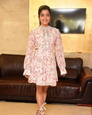 Rashmika Mandanna - Bheeshma Movie Success Meet Photos | Picture 1722991