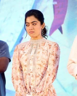 Rashmika Mandanna - Bheeshma Movie Success Meet Photos | Picture 1723071