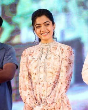 Rashmika Mandanna - Bheeshma Movie Success Meet Photos | Picture 1723069