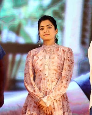 Rashmika Mandanna - Bheeshma Movie Success Meet Photos | Picture 1723060