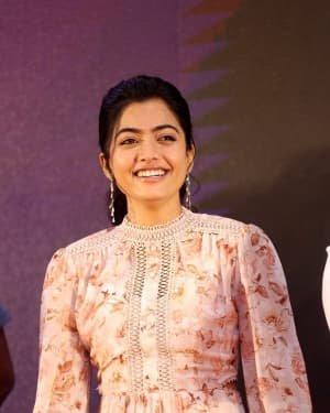 Rashmika Mandanna - Bheeshma Movie Success Meet Photos | Picture 1723066