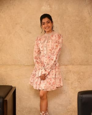 Rashmika Mandanna - Bheeshma Movie Success Meet Photos | Picture 1722994