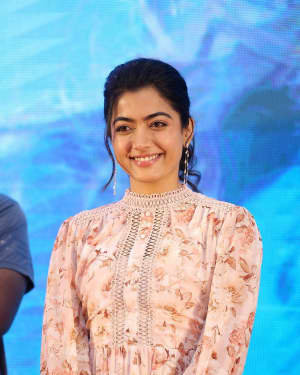 Rashmika Mandanna Bheeshma Movie Success Meet Photos