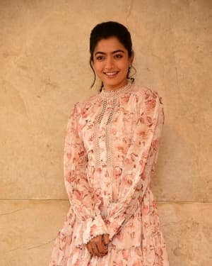 Rashmika Mandanna - Bheeshma Movie Success Meet Photos | Picture 1722995