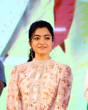 Rashmika Mandanna - Bheeshma Movie Success Meet Photos | Picture 1723072