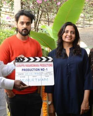 Sumanth Ashwin New Movie Opening Photos
