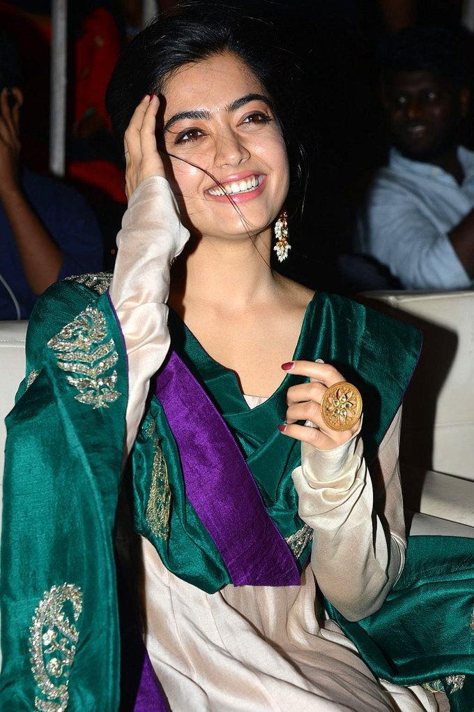 Rashmika Mandanna - Bheeshma Thanks Meet At Vizag Photos | Picture 1724073
