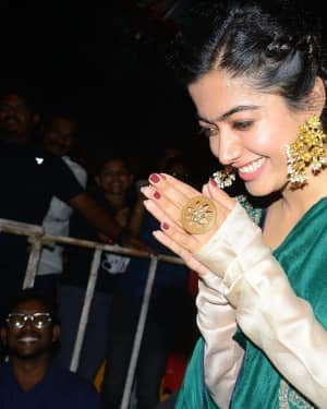 Rashmika Mandanna - Bheeshma Thanks Meet At Vizag Photos | Picture 1724067