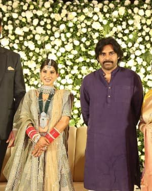 Jayasudha Son Nihar Kapoor & Amrita Wedding Reception Photos