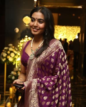 Shivatmika Rajasekhar - Jayasudha Son Nihar Kapoor & Amrita Wedding Reception Photos