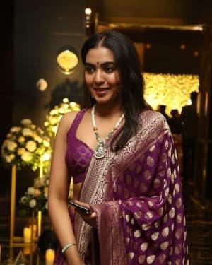 Shivatmika Rajasekhar - Jayasudha Son Nihar Kapoor & Amrita Wedding Reception Photos