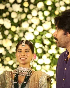 Jayasudha Son Nihar Kapoor & Amrita Wedding Reception Photos