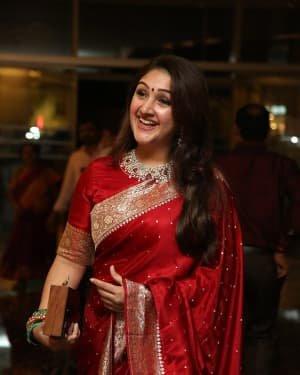 Sridevi Vijaykumar - Jayasudha Son Nihar Kapoor & Amrita Wedding Reception Photos | Picture 1724140