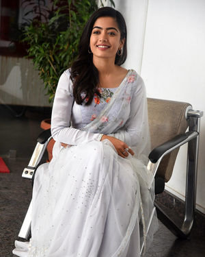 Rashmika Mandanna At Sarileru Neekevvaru Interview Photos | Picture 1712859