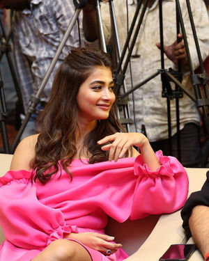 Pooja Hegde - Ala Vaikunthapurramuloo Movie Success Meet Photos | Picture 1714577