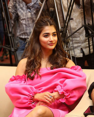 Pooja Hegde - Ala Vaikunthapurramuloo Movie Success Meet Photos | Picture 1714576