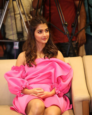 Pooja Hegde - Ala Vaikunthapurramuloo Movie Success Meet Photos | Picture 1714588